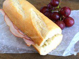 French Ham and Butter Sandwich (Jambon Buerre) #SundaySupper