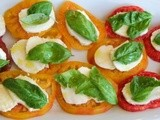 Heirloom Caprese Salad for #SundaySupper