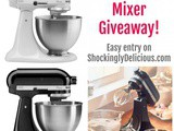 KitchenAid Stand Mixer #Giveaway