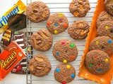 Leftover Halloween Candy Cookies {Secret Recipe Club}