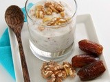 Moroccan Goat Yogurt with Dates and Preserved Lemon and a #Giveaway