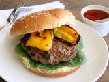 Orange Habanero Lamb Burgers