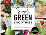 Simple Green Smoothies and a Cookbook #Giveaway
