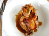 Slow Cooker Cornish Game Hens with Cointreau Orange Sauce