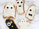 Spooky Shortbread Cookies for #HalloweenTreatsWeek (Lemon-Vanilla Flavor)