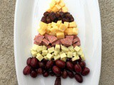 Tree-Shaped Meat and Cheese Plate