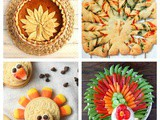 Turkey-Shaped Food for Your Thanksgiving Feast