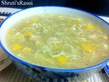 Chicken Sweet Corn Soup (With Tinned Corn)