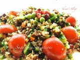 Free Foods- Festive Foods - Red Quinoa Salad