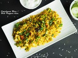 Bell Pepper Rice / Capsicum Rice