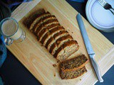 Eggless Banana and Walnut bread (Vegan)