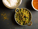 Grean beans and Peas Palya / Sabzi / Stir-fry