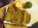 Parsley Paratha / Parsely Flatbread