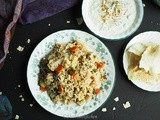 Quick Vegetable Pulao - Instant Pot Method