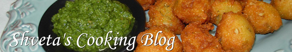 Very Good Recipes - Shveta's Cooking Blog