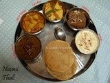 Indian Thali: a special treat on Festivals