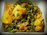 Aloo Methi - Potato with Fenugreek Leaves
