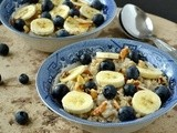 Banana Blueberry Oatmeal