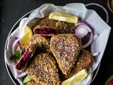 Beetroot Cutlet - Heart Shaped Cutlets