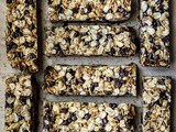 Chocolate Chip Walnut Granola Bars