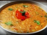 Dal Fry - Lentils Curry - Yellow Pigeon Pea  & Split Chickpea Curry
