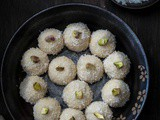 Easy Coconut Ladoo Recipe with Condensed Milk