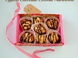 Eggless Chocolate Coconut Macaroons