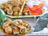 Appetizers for the aperitif: 5 recipes with puff pastry