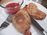 All Mixed Up Calzone for #BakingBloggers