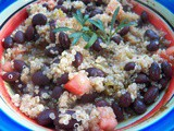 Black Bean and Quinoa Salad for src