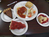 Cabbage Rolls and Turkey Pot Pie for Senior Lunch