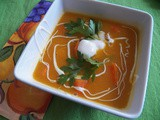 Carrot and Sweet Potato Chowder for #SoupSaturdaySwappers