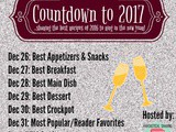 Countdowns to 2017- Best Appetizers and Snacks