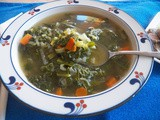 Green Kale Soup for #SoupSaturdaySwappers