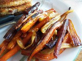 Honey and Garlic Roasted Carrots