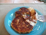 Potato Cakes from leftover Brandede Kaerlighed
