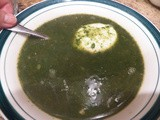 Spinat Suppe (Spinach Soup)