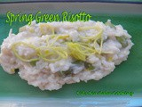 Spring Green Risotto for src Bunnies and Leprechauns Reveal