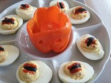 Tate's Hell Snake Eyes Deviled Eggs