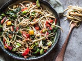 Noodles with Swiss chard and the birth of a recipe