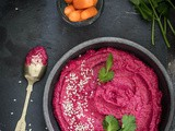 The most delicious beetroot hummus (without the chick peas)