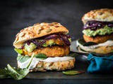 Who says vega burgers are no good? This carrot chickpea burger proofs otherwise