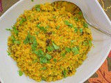 Savory Turmeric Couscous with Almonds