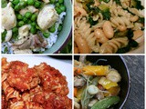 10 Quick Meals: For the Busy Holiday Season. #Weekly Menu Plan