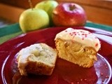 Apple Filled Cupcakes with Butter Cream Frosting #Foodie Friday