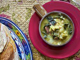 Cabbage Soup: White Bean & Kale #Healthy Eating