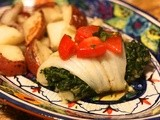 Cod & Spinach Roulades #French Fridays with Dorie