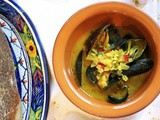 Curried Mussels #French Fridays with Dorie