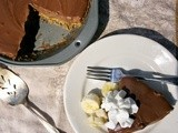 Dairy-Free Chocolate Pie  #Foodie Friday