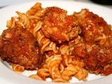 Foodie Friday: Simple Meatballs & Pasta